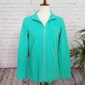NWT [Tommy Bahama] Zip Up Long Sleeve Jacket   S